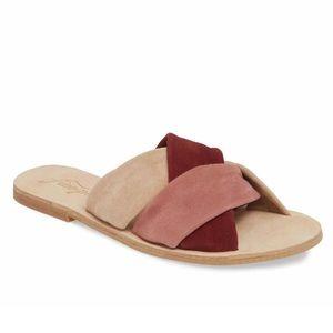 Free People Rio Vista Slide Sandal Size 38